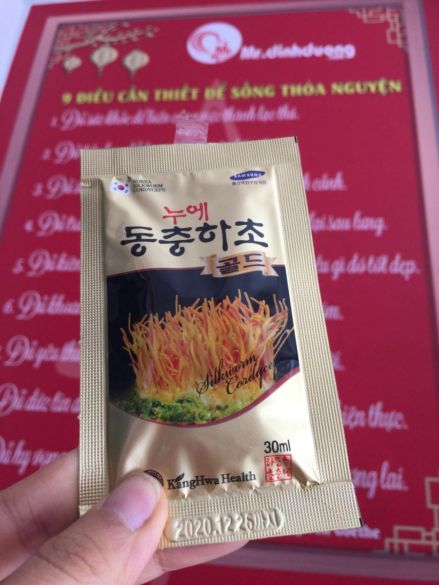 công dụng của nước đông trùng hạ thảo Kanghwa