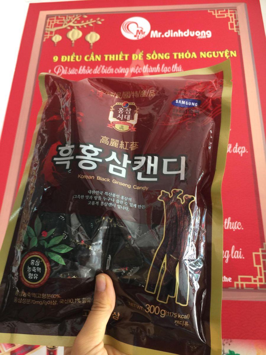 kẹo hắc sâm Hàn Quốc